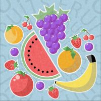Fruits, simplified. by rod750