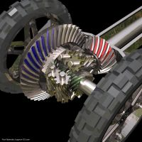 Torsen Traction Differential by bugman123