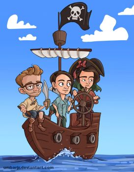Sourcefed Pirate Ship by UmbarJr