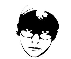stencil of my FACE by TheStrawberryField