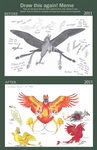 Draw This Again Meme- Paradisaean Phoenix by EagleFlyte