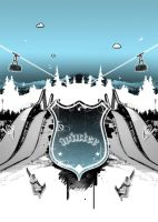 Winter - poster by jake