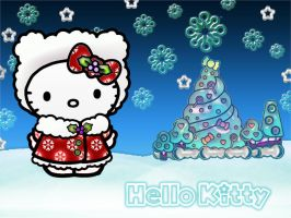 xmas 4 hello kitty by xxx037