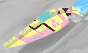 wipeout is magic, Fluttershy by otakuap