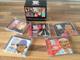 GTA Vice City Official Soundtrack Boxset by extraphotos