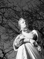 Thinking Statue by flextograph
