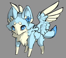 Angel Fox Adopt (10 Points) CLOSED by Pisces--Dreamer