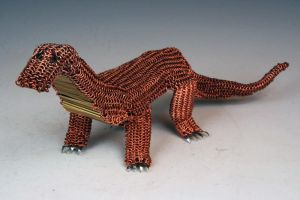 Chainmaille Dragon by purpleyoshi1