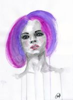 Purple Hair by cnigrelli185