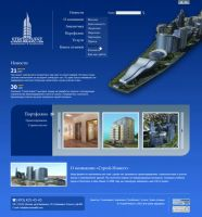 Architectural company's site by Vadich