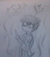 john=the most adorable thing youve ever seen by AskGeorgiaTheBlueJay