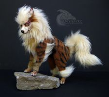 Arcanine Room Guardian by AnyaBoz