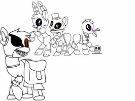Freddy s at five nights mlp