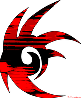 Shadow The Hedgehog Logo (TRANSPARENT) by sierra-windguardian