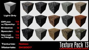 UDK Texture Pack 13 by DK2007