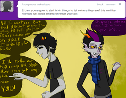 ask blind sollux by CarlaLax