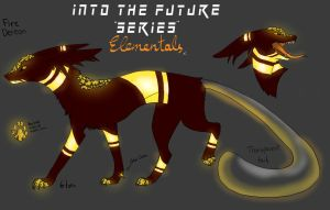 .:Into The Future Series:. Fire Elemental-(CLOSED) by Amabyllis