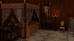 View of the Bed by 3D-Fantasy-Art