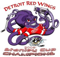 Detroit Red Wings CHAMPS by kaijuverse