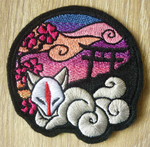 FOR SALE: Shrine of Inari patch ~ SUNRISE by goiku