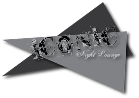 Iconic Night Lounge logo 1 bw by Lovett91