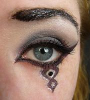 Purple Gunmetal Eye Stock 1 by Melyssah6-Stock