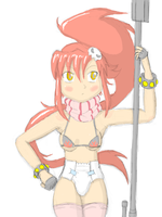 Padded Yoko by NormalDeviant