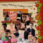 HBD Rowling y Harry by oscarelnoble