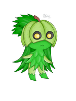 Fakemon: Grass stater-Male by BlakkHeart