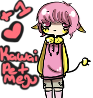 Kawaii Pet Megu Jin by AskVectorPrincess