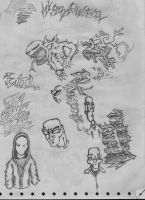 sketch page by Bodhi-The-Wicked