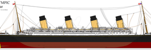 RMS Olympic Post War by Crystal-Eclair