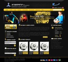 KIMPEX SPORTS by: dxgraphic by WebMagic