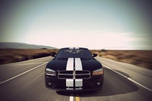 Dodge Charger - desert by AnalyzerCro