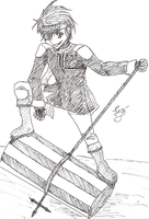 First Lavi Sketch by caged-birds