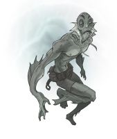 abe sapien by jimmymcwicked