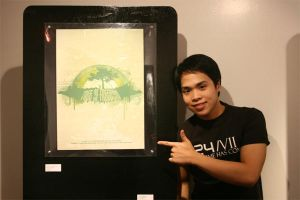 TREE OF FREEDOM in art exhibit by supermanisback