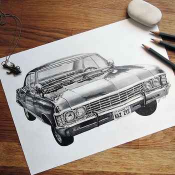 1967 Chevy Impala by portraitprints