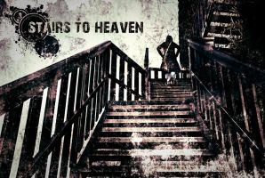 Grunge Stairs to Heaven by Mark-Pawl