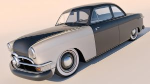 1950 Ford Club Coupe by SamCurry