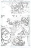 Judge Dredd Cycle of Violence Pencils by PIT-FACE