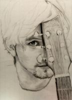WIP: Jackson Rathbone and his Guitar by shuckaby