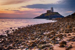 Mumbles Lighthouse by CharmingPhotography