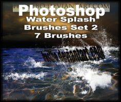 Water Splash Brushes PS SET 2 by FrostBo