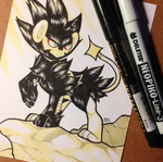 Inktober Day 4 by MagicalZombie