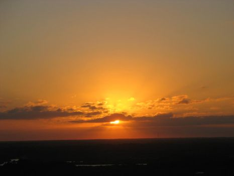 Sunset at 175' Zoomed by Barbaric-D