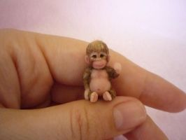 Mini Monkey by AmbasItsyBitsies