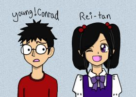 YoungConrad and Rei-tan by DRei-chan