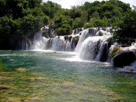Waterfalls on river Krka 2 by Music-Monster97