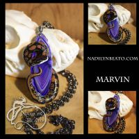 Marvin Pendant by NadilynBeato